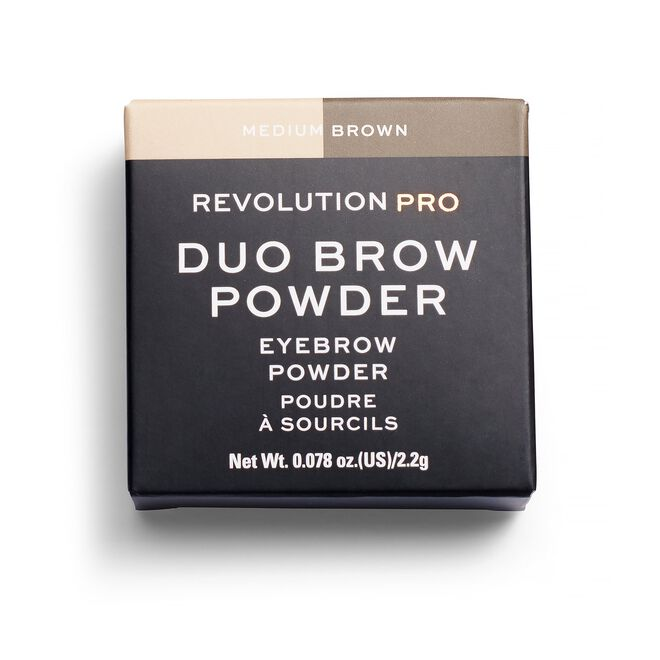 Duo Eyebrow Powder Medium Brown