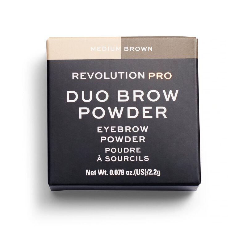 Duo Eyebrow Powder Medium Brown