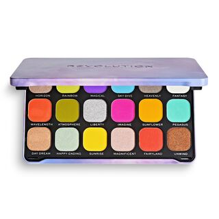 Halloween Rainbow Shadow Palette