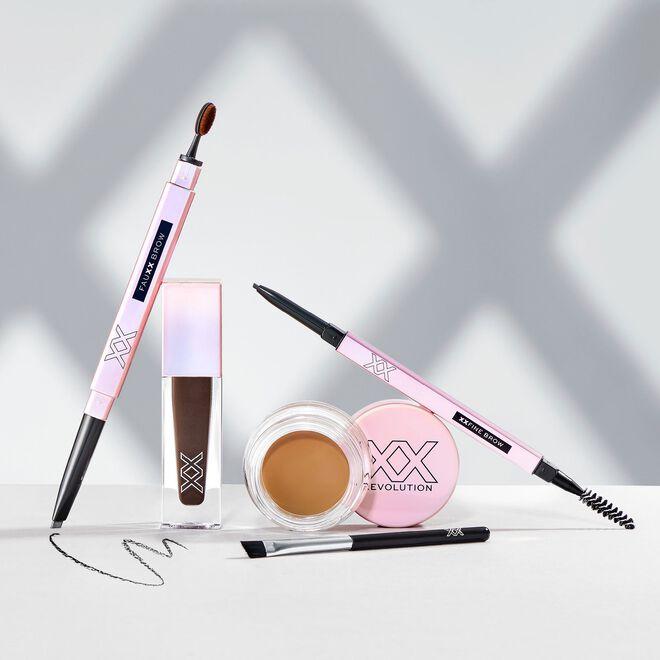 XX Revolution FauXX Brow Pencil Warm Brown
