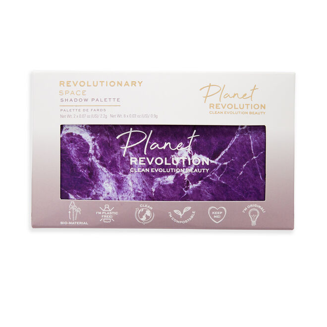 Planet Revolution Revolutionary Space Marble Eyeshadow Palette