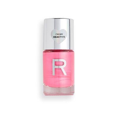 Makeup Revolution Neon Glow Nail Polish Pink Vibes