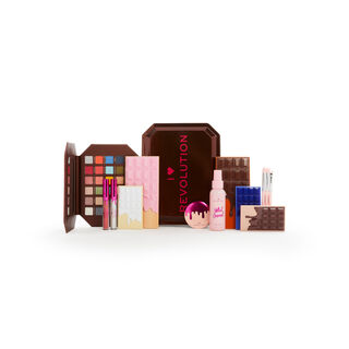 I Heart Revolution Chocolate Vault Tin Gift Set