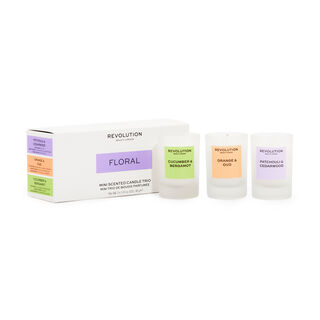 Revolution Home Floral Mini Candle Gift Set