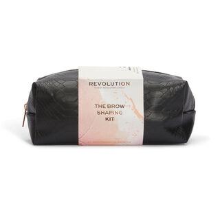 Makeup Revolution Brow Shaping Kit With Bag Gift Set