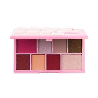 I Heart Revolution Mini Rose Cream Chocolate Eyeshadow Palette