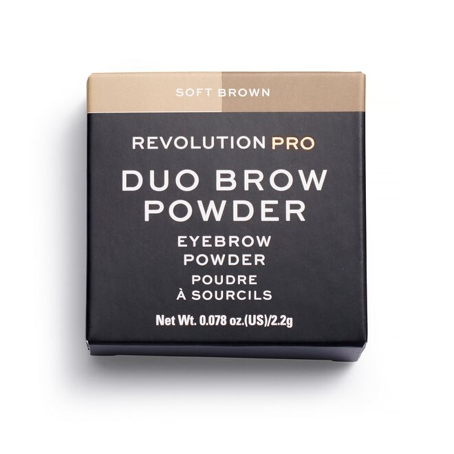 Duo Eyebrow Powder Soft Brown