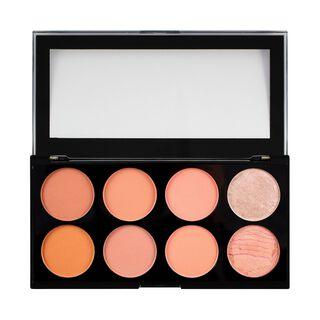 Makeup Ultra Blush Palette Hot Spice