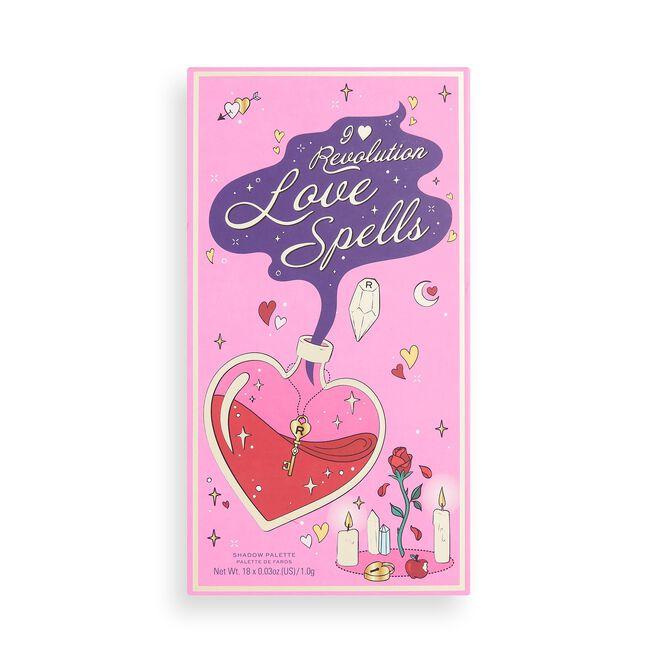 I Heart Revolution Book of Spells Eyeshadow Palette Love Spells