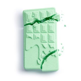 Chocolate Bar Bath Fizzer Mint
