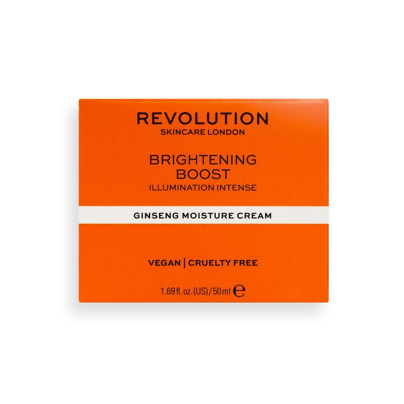Revolution Skincare Brightening Boost Moisture Cream with Ginseng