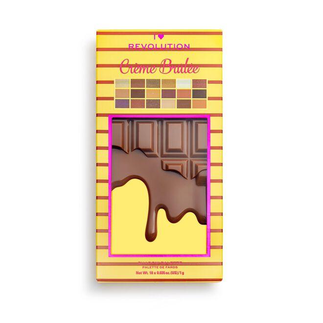Crème Brulee Chocolate Palette