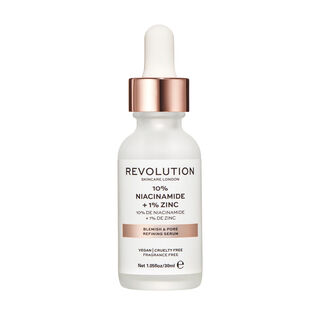 Revolution Skincare 10% Niacinamide and 1% Zinc Blemish & Pore Serum