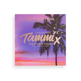 Makeup Revolution X Tammi Golden Hour Deep Dark Face Palette