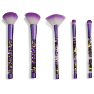 Fortune Seeker Purple Glitter Brush Set
