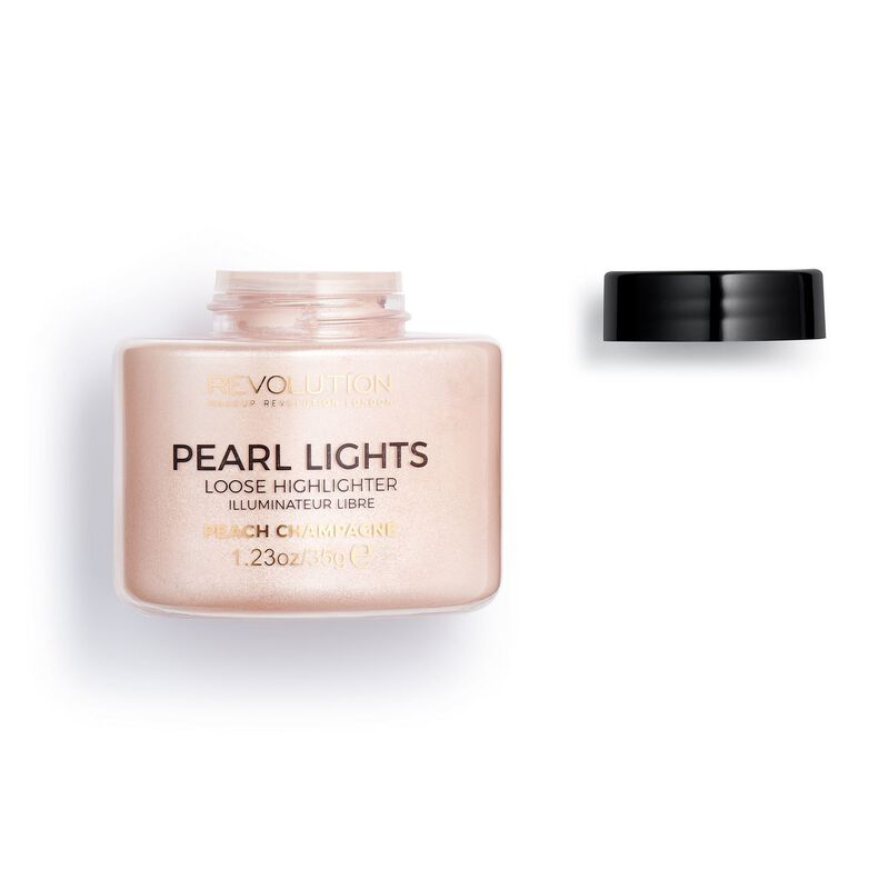 Pearl Lights Loose Highlighter - Peach Champagne