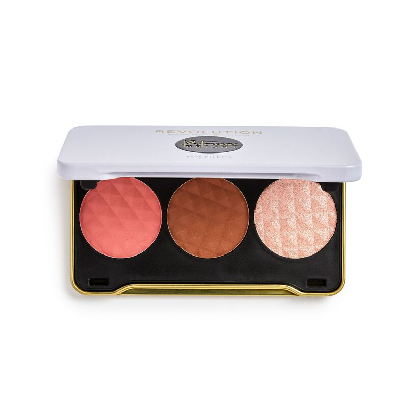 Revolution X Patricia Bright Summer Sunrise Face Palette