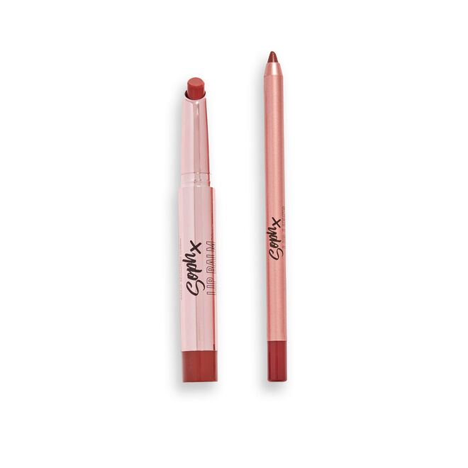 Makeup Revolution X Soph Lip Set Toffee Drizzle