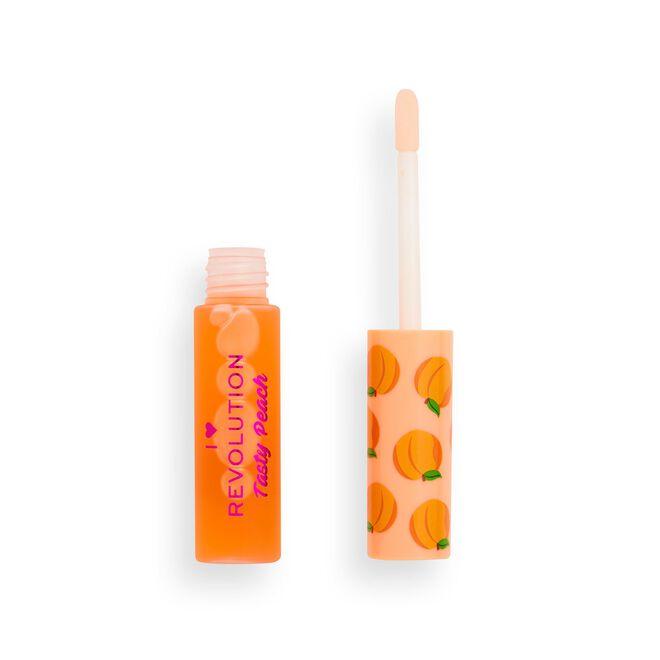 I Heart Revolution Tasty Peach Lip Oil Peach Juice