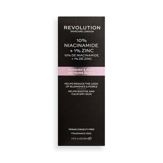 Revolution Skincare 10% Niacinamide + 1% Zinc Blemish & Pore Refining Serum SUPER SIZED 60ml