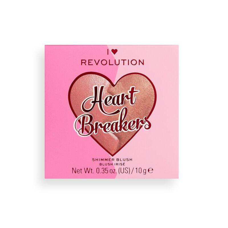 I Heart Revolution Heartbreakers Shimmer Blush Powerful