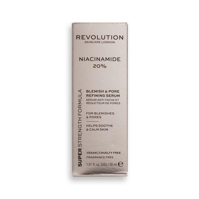 Revolution Skincare 20% Niacinamide Blemish and Pore Refining Serum