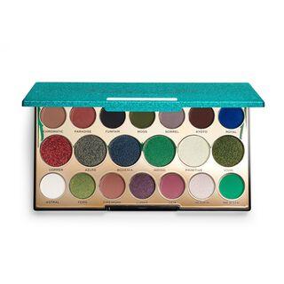 Makeup Revolution Precious Stone Eyeshadow Palette Emerald