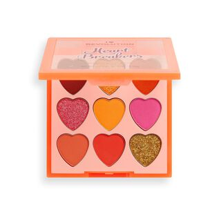 I Heart Revolution Heartbreakers Eyeshadow Palette Fiery