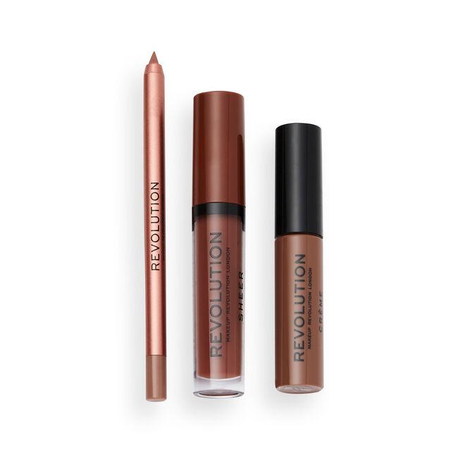 Makeup Revolution Chilled Lip Set