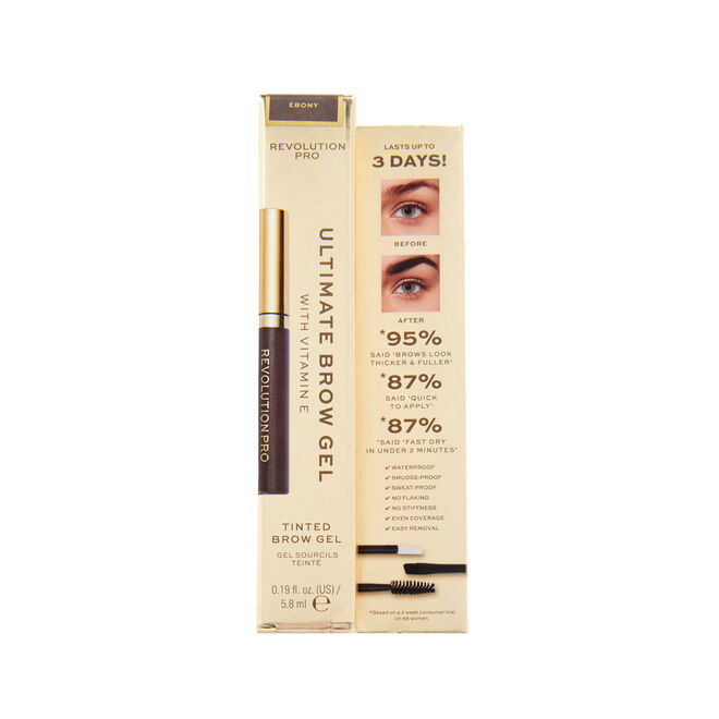Revolution Pro Ultimate Brow Gel Ebony