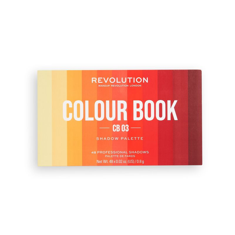 Makeup Revolution Colour Book Eyeshadow Palette CB03