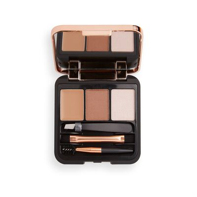 Makeup Revolution Brow Sculpt Kit Brown