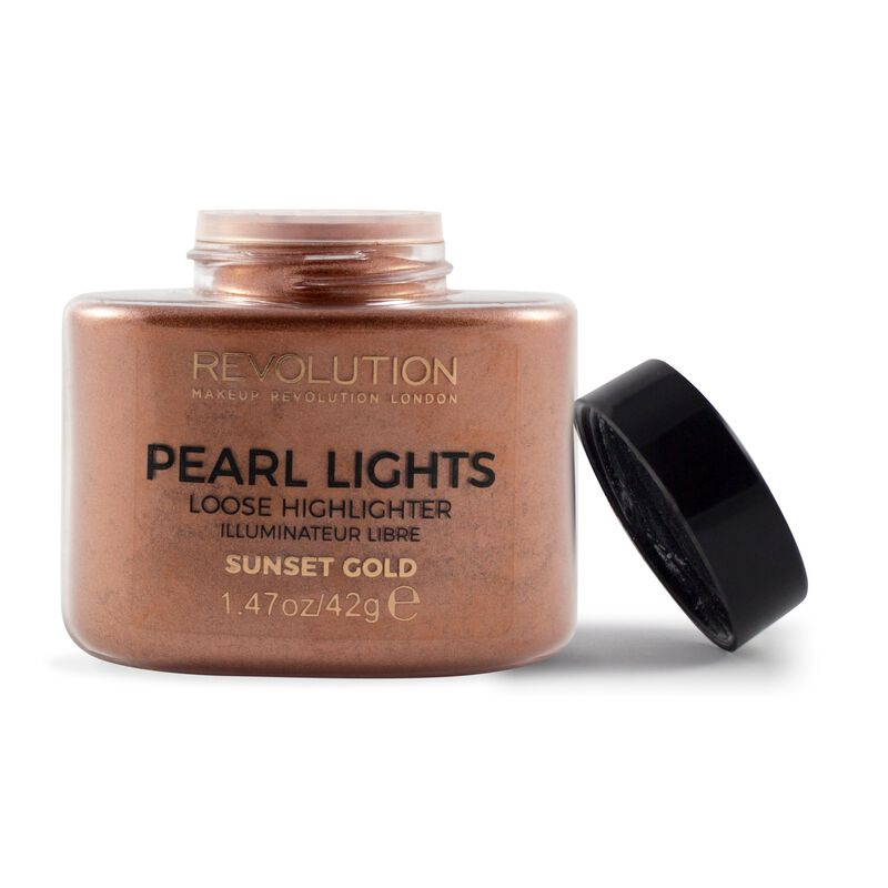 Pearl Lights Loose Highlighter - Sunset Gold