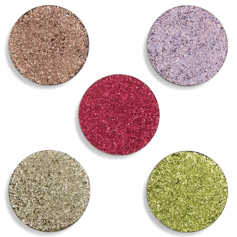 Refill Pressed Glitter Eyeshadow Pack - Stop Look and Glisten