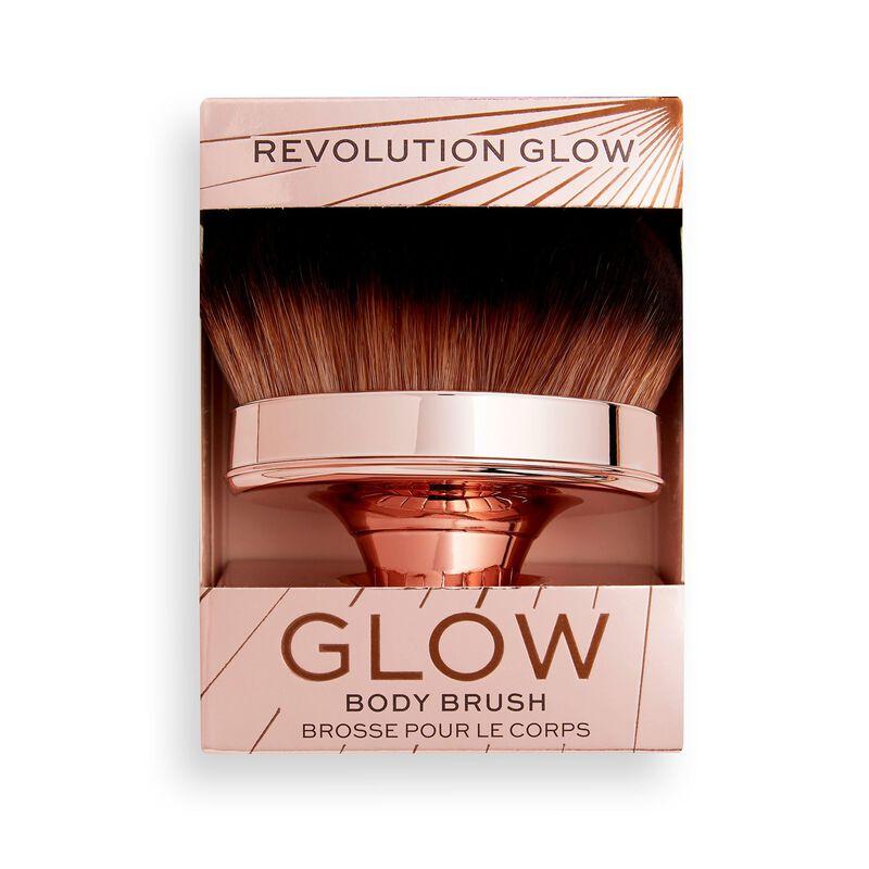 Makeup Revolution Glow Shimmer Oil Buffing Brush