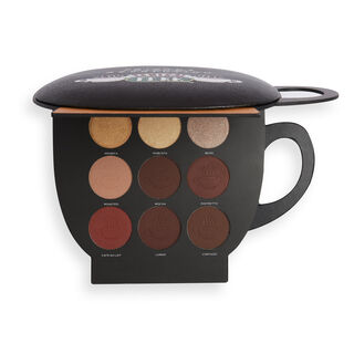 Makeup Revolution X Friends Grab a Cup Face Palette Dark to Deep