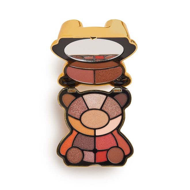 I Heart Revolution Teddy Bear Eyeshadow Palette Honey