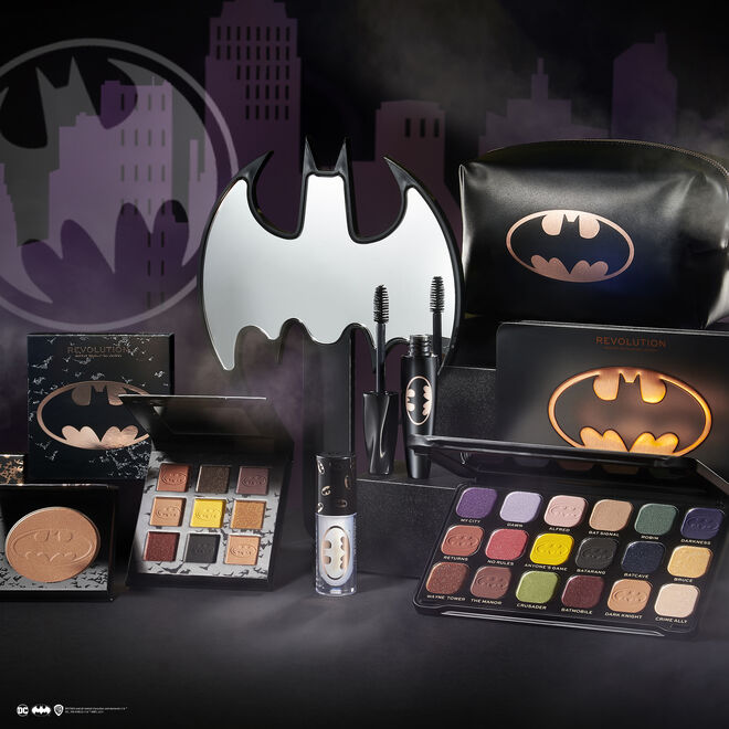 Batman™ X Makeup Revolution Cosmetic Handheld Mirror