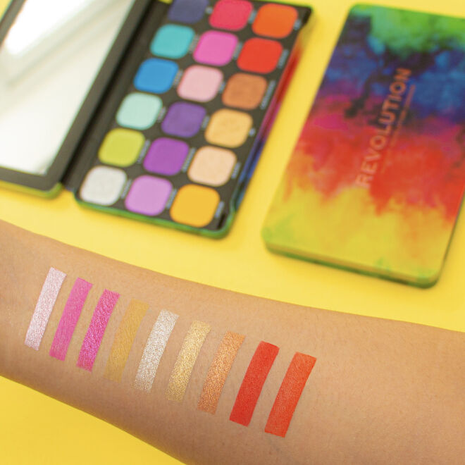 Makeup Revolution Forever Flawless Pride We Are Love Eyeshadow Palette