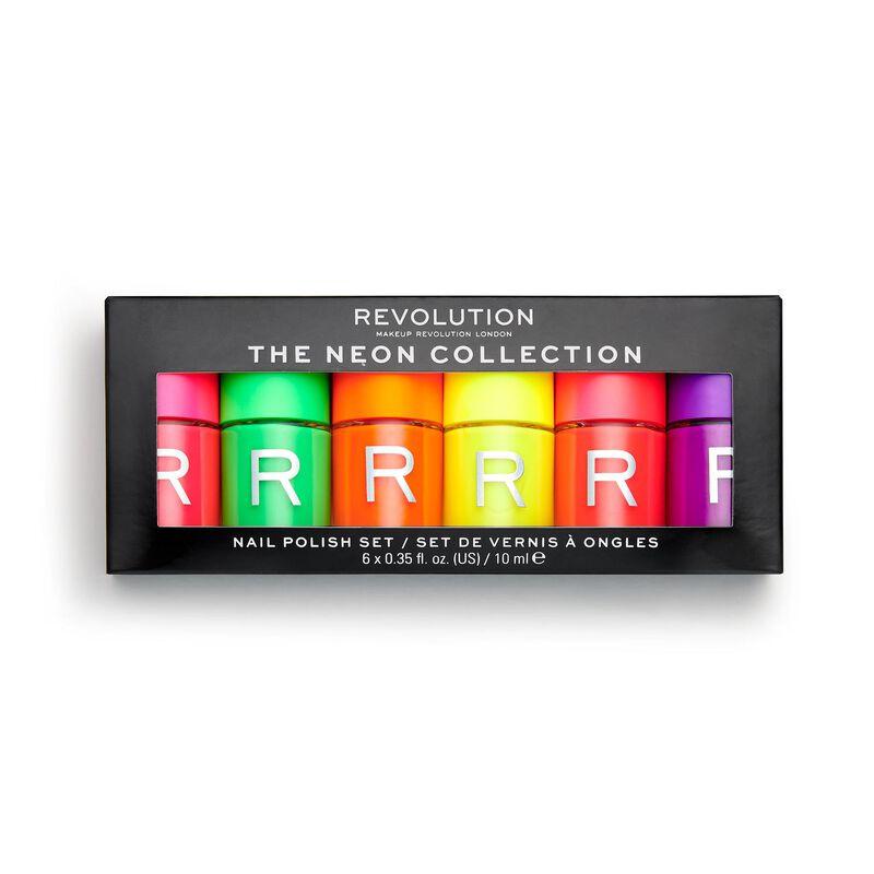 Neon Nail Polish Set