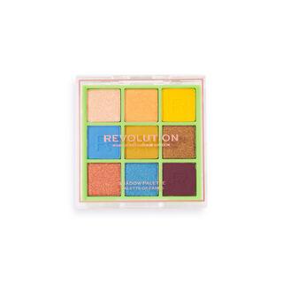 Makeup Revolution Neon Heat Eyeshadow Palette Safari Green