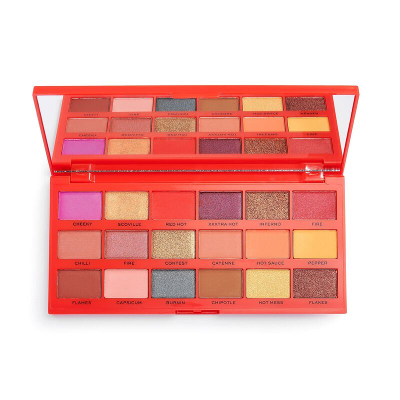 I Heart Revolution Tasty Chilli Eyeshadow Palette