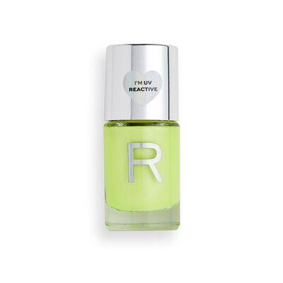 Makeup Revolution Neon Glow Nail Polish Yellow Tropic