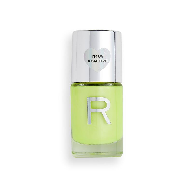 Makeup Revolution Neon Glow Nail Polish Yellow Tropic