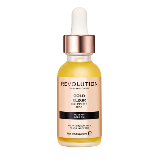 Revolution Skincare Gold and Rosehip Seed Oil Nourishing Oil