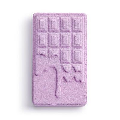 Chocolate Bar Bath Fizzer Lavender