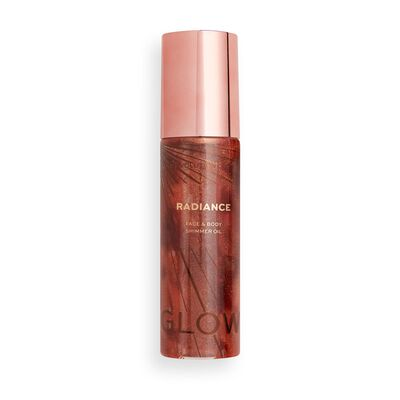 Makeup Revolution Glow Radiance Shimmer Oil Bronze