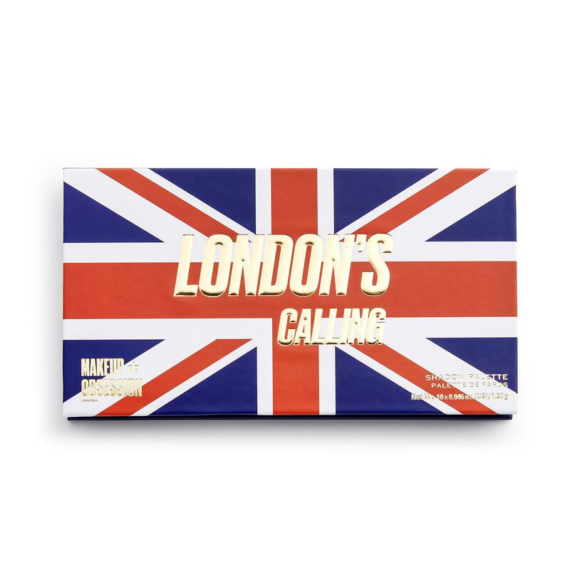 Makeup Obsession London's Calling Eyeshadow Palette