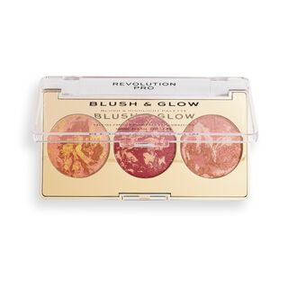 Revolution Pro Blush & Glow Face Palette Cranberry Glow