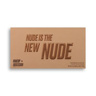 Makeup Obsession Nude Is The New Nude Eyeshadow Palette